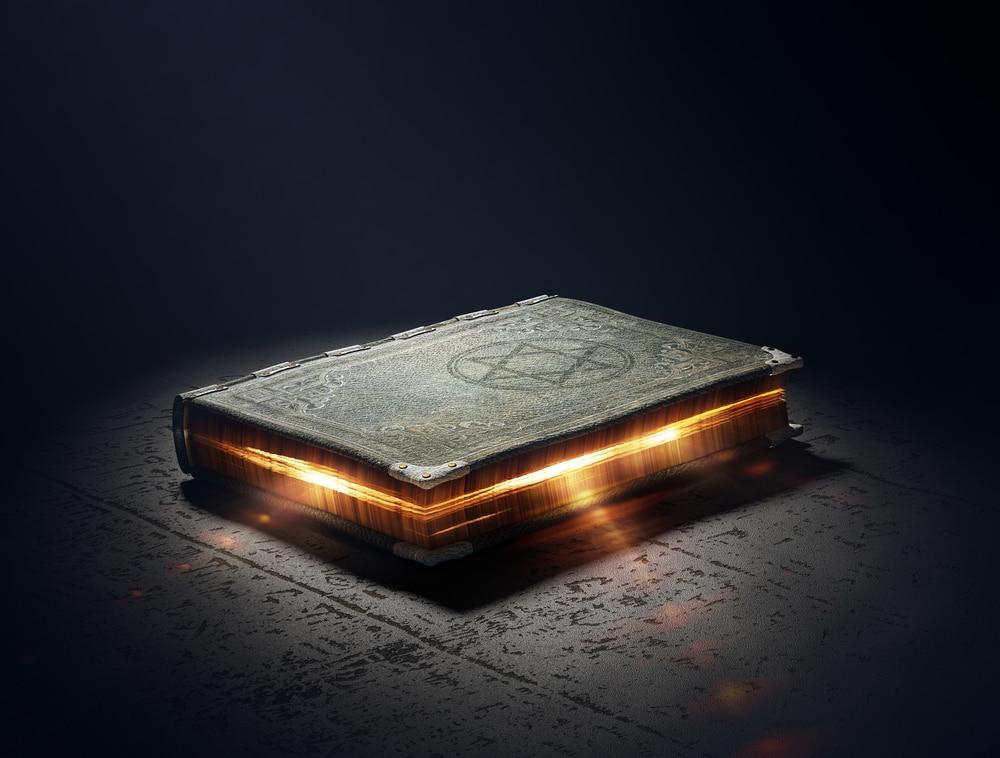 магическая книга с заговорами