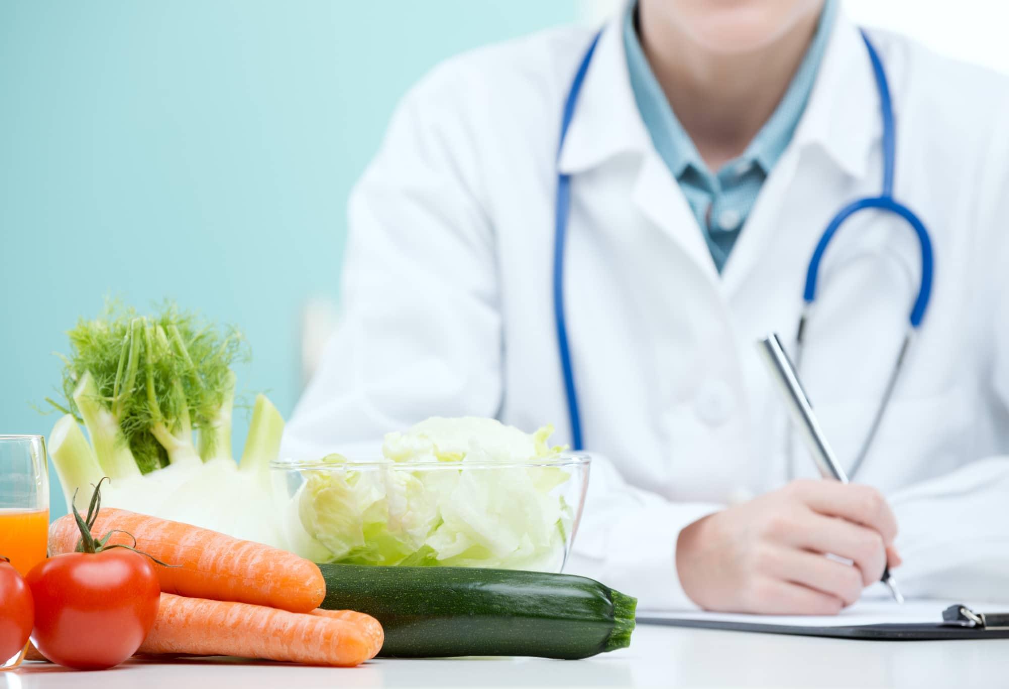 доктор и овощи