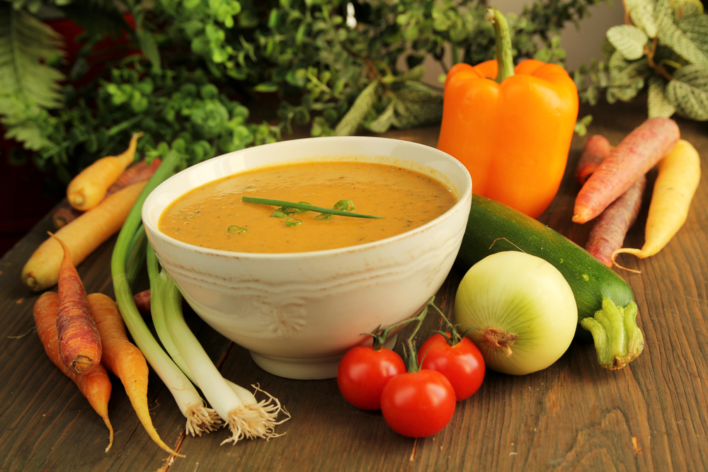 Диета похудения с помощью супа